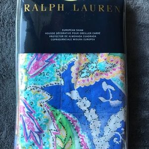 Ralph Lauren Flying Point One Euro European Sham